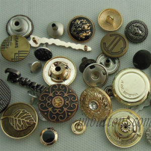 Custom Brand Decorative Metal Buttons for Clothing pictures & photos