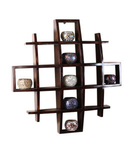 Customised Furniture Display Rack Solid Wood Shelf (GDS-068) pictures & photos