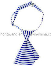Customized Lady Polyester Collar Flower Bow Tie pictures & photos