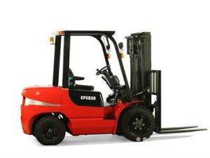 3.0t LPG/Gasoline Forklift Truck with Certificates pictures & photos