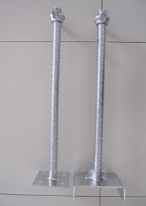 Glavanized Scaffolding Base Jack / U Head Jack Low Price pictures & photos