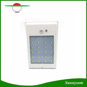 400lm 24 LED Solar Power Street Light PIR Motion Sensor Light Garden Security Lamp Outdoor Street Waterproof Wall Lights pictures & photos