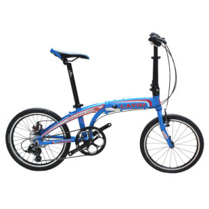 "20"" Inch 8 Speed Light Weight Aluminum Alloy Folding Bike pictures & photos"