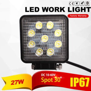 27W Waterproof LED Working Light (Warranty 1years)