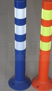 PU Upright Column Plastic Traffic Sign, Road Safety Barrier pictures & photos