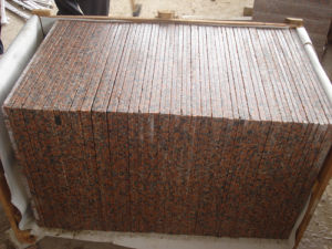 Cheap Chinese G562 Maple Red Granite Floor Tile pictures & photos
