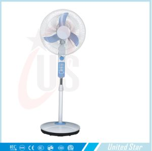 16′′standing Rechargeable /DC Fan (USDC-422) with CE, RoHS pictures & photos