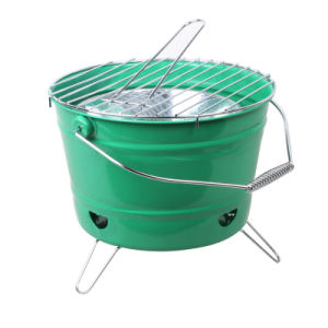 Bucket BBQ Grill with Ce Approved (SP-CGT06) pictures & photos