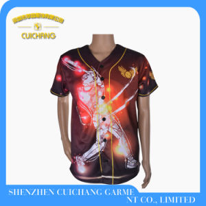 Sublimation Baseball Jersey pictures & photos