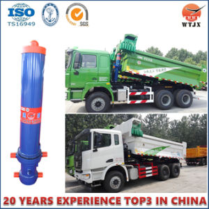 Front-End Cylinder with Outer Cover for Dump Truck Hydraulic Cylinder Hyva Type pictures & photos