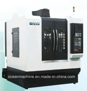 High Precision Metal Drilling and Grinding CNC Machine with Circular Tool Magazine