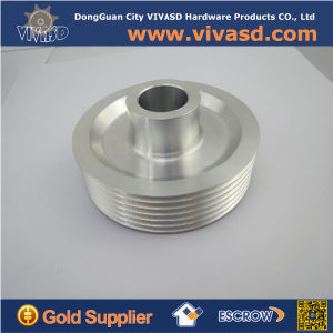 Shiny Anodized CNC Aluminum Motor Pulleys pictures & photos