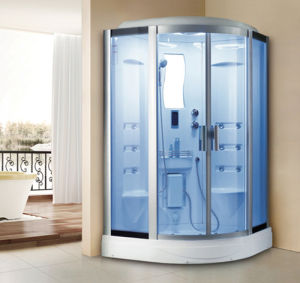 Deluxe Multifunctional Bathroom Steam Shower Room with Computer Control Panel pictures & photos