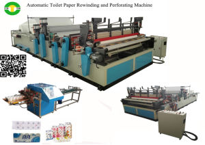 Automatic Electrical Motor Rewinding Machine Toilet Paper Roll Machine pictures & photos