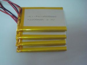 9505080 Cell Lipo 3.7V 2200mAh Polymer Lithium Battery pictures & photos