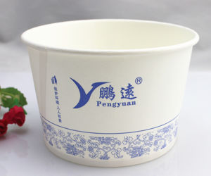Disposable, Stocked, Eco-Friendly Food Container Instant Noodles Paper Bowl pictures & photos