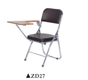 Foldable Meeting Chair with Writing Pad pictures & photos