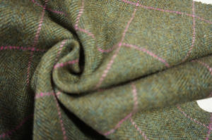 Wool Fabric Woresed&Woolen Fabric with Tweed