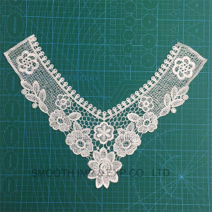 Embroidered Cotton Crochet Necklace Collar Lace pictures & photos