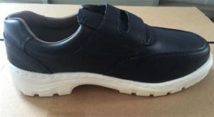 ESD Shoes Dark Blue Safety Shoes pictures & photos