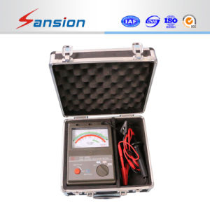5kv Pointer Type Insulation Resistance Meter pictures & photos
