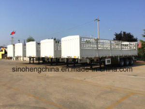 Semi Trailer Manufacturer/Factory Hot-Sale Stake Semi Trailer pictures & photos