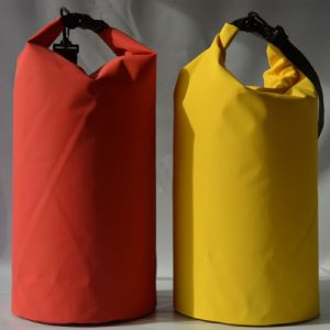 Durable Yellow Waterproof Dry Floating Bag for Swimming