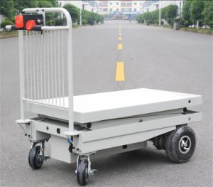 Electric Hydraulic Scissor Lift Table (HG-1160) pictures & photos