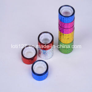 Laser, Color Decorative Gift Tape, DIY Adhesive Tape, Multi-Function, Decorative Stickers, Label Sticker for Printing