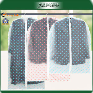Water Wash Transparent Dust Cover Suit Cover Overcoat Clothes Cover Hanging Clothing Bags pictures & photos