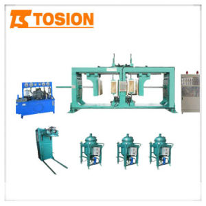 Supply The APG Process Resin 1210 Epoxy Resin Gel Hydraulic Molding Machine Equipment Manufacturer pictures & photos