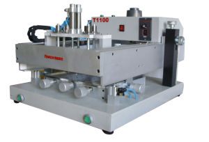 SMT Desk Manual Solder Paste Screen Printer for PCB pictures & photos
