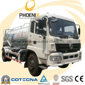4X2 10cbm Sewage Suction Tank Truck with Dongfeng Chassis pictures & photos
