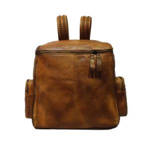 Original Genuine Leather Backpack Retro Bag Travel Bag Fashion Bag