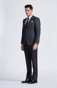 Economic and Durable High Quality Gray Men Suit pictures & photos