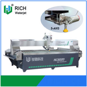 High Pressure 5 Axis CNC Waterjet Cutting Machine pictures & photos