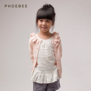 100% Cotton Spring/Autumn Sweater for Girl pictures & photos
