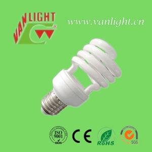 T4 24W Half Spiral CFL Lamp Energy Saving