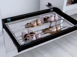 Furniture Hardware Adjustable Steel Shoe Rack pictures & photos