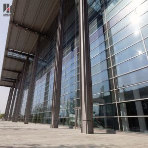 Aluminum Exterior Tempered Glass Curtain Wall for Building with One-Stop Solution pictures & photos