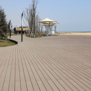 Garden WPC Wood Plastic Composite Decking (M36) pictures & photos