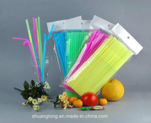 Artistic Straw Bendable Flexible Plastic Drinking Straws pictures & photos
