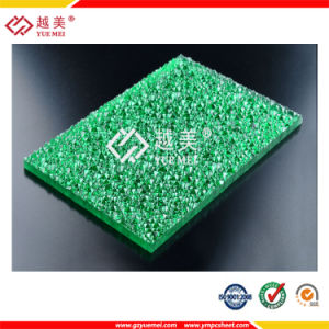 3mm Bending Diamond Embossed Polycarbonate Sheet for Building Materials pictures & photos
