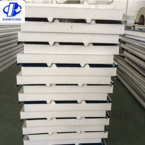 Insulated Polyurethane EPS Sandwich Foam Wall Panel pictures & photos