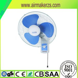 16inch Best Priceac 110-220V Oscillating Coil Copper Motor Wall Fan pictures & photos