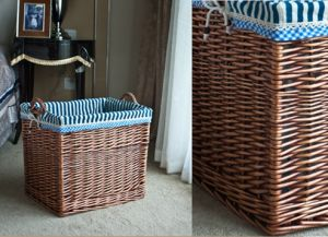 Handmade Wicker Storage Basket with Eco-Friendly (BC-ST1020) pictures & photos