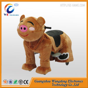 Coin Operated Plush Animal Electric Scooter pictures & photos