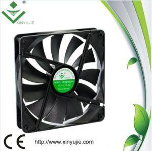 Xj14025 Big Size 140mm Slim 25mm High Air Flow DC Brushless Cooler Fan pictures & photos