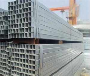 50X100mm Pre-Galvanized Rectangular Square Tube/Steel Pipe pictures & photos