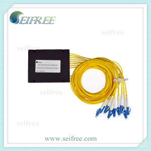 8 Channel Fiber Optic Mux/Demux Module DWDM Optical Multiplexer pictures & photos